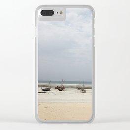 #279 Zanzibar Landscape Clear iPhone Case