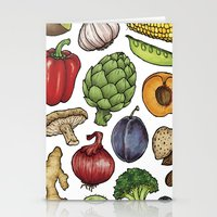 food Stationery Cards featuring Food by Sam Magee