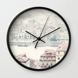 city dreams Wall Clock