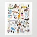 little nature alphabet by bribuckley