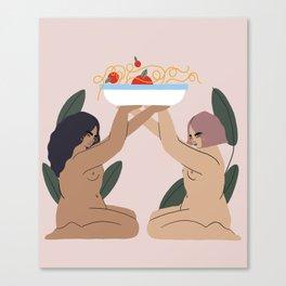 pasta Canvas Print