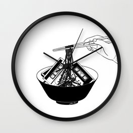 Enjoy Your Meal Wall Clock