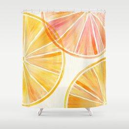 Sunny Citrus Shower Curtain