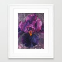 ursula Framed Art Prints featuring Ursula by Crystal Manning