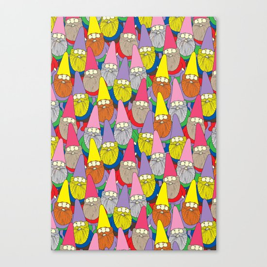 Mister Gnome Canvas Print
