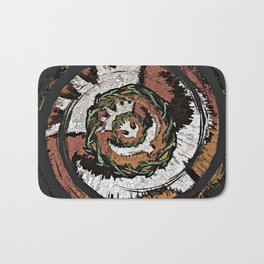 The Holy Dove & Crown Of Thorns Bath Mat
