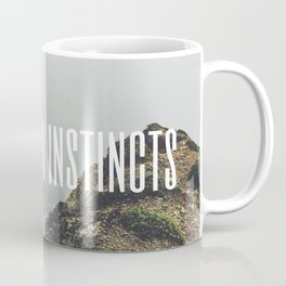 Tory Burch 2 Quotes Advice Trust Your Instincts Coffee Mug