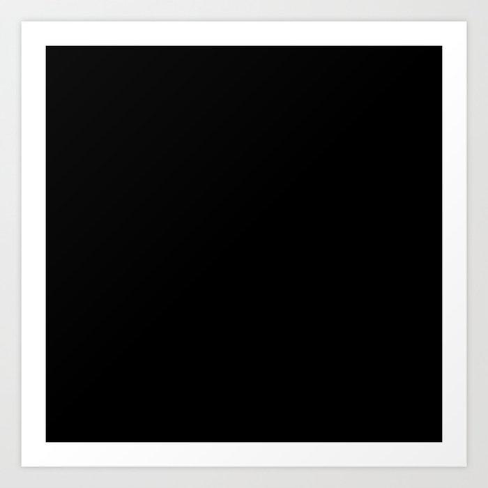 Simply Midnight Black Kunstdrucke