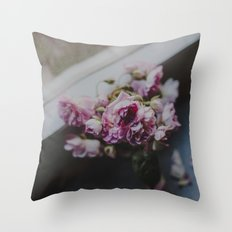 The quiet morning Throw Pillow