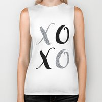 xoxo Biker Tanks featuring XOXO by Indulge My Heart