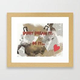 Rocky Horror - Don't Dream It... Framed Art Print