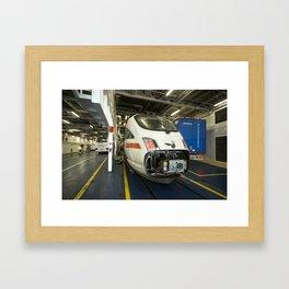 The Train Ferry  Framed Art Print