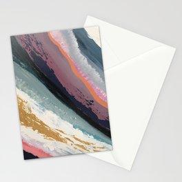SURFS UP   Abstract acrylic art by Natalie Burnett Art Stationery Cards