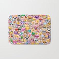 emoji / emoticons Bath Mat