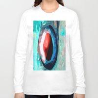 iris Long Sleeve T-shirts featuring Iris by Lior Blum