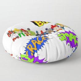 Superhero Butts Crack Smack Floor Pillow