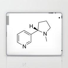 nicotine chemical formula Laptop & iPad Skin