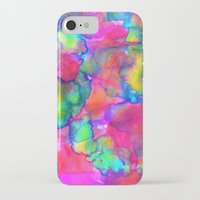 aurora iPhone & iPod Cases featuring Aurora by Amy Sia