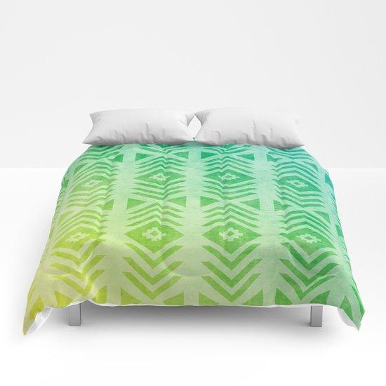 Aztec Pattern 01 Comforters