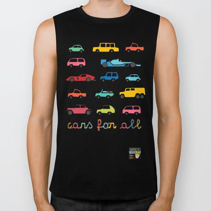 Cars for all Biker Tank