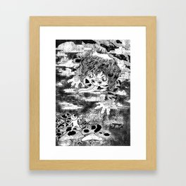 Nothing to fear but fear itself Framed Art Print