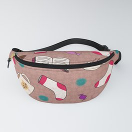 A Cozy Winter's Night Fanny Pack