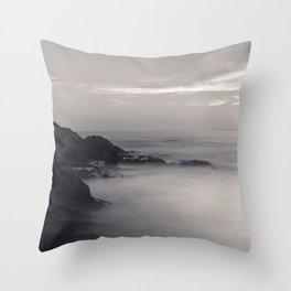 Martian Beach Throw Pillow