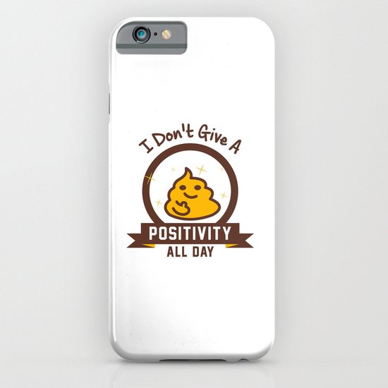 I Don't Give a Shit :) iPhone & iPod Case