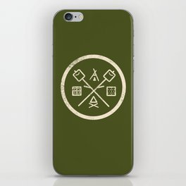 S'mores Society iPhone Skin