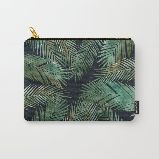 Tropica Central as night Carry-All Pouch