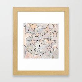 I Am Stardust Series 1.5 Framed Art Print