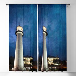 Lighthouse Blues Blackout Curtain