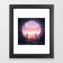 SUNDAY MORNING (everyday 05.05.18) Framed Art Print