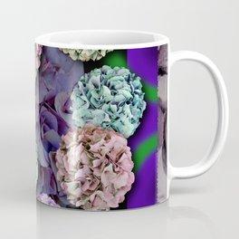HYDRANGEAS FADING ABSTRACT BOUQUET  Coffee Mug