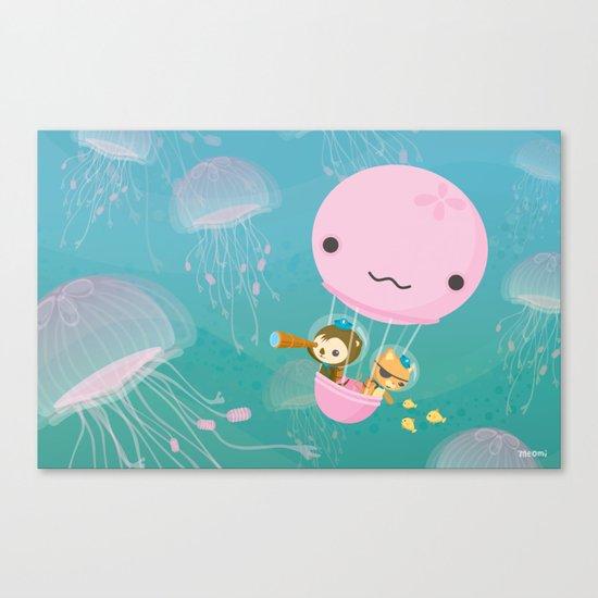 The Octonauts Jellyfish Balloon Canvas Print