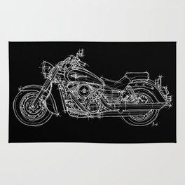 Kawasaki Vulcan Rug