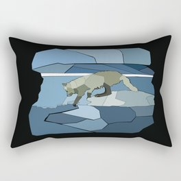 Artic Wolf Rectangular Pillow