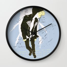 leatherette Wall Clock