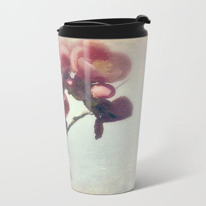 I dreamed a flower garden Metal Travel Mug