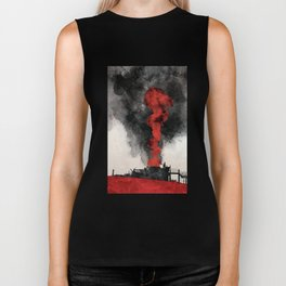 There Will Be Blood Movie Poster Biker Tank