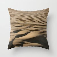 dune Throw Pillows featuring DUNE by Avigur
