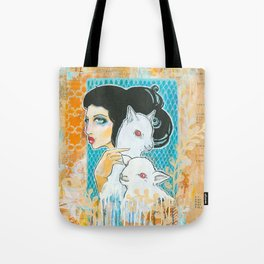 Two and a Lamb Tote Bag