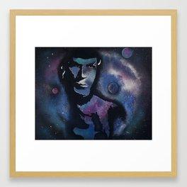 Immortal Spock Framed Art Print