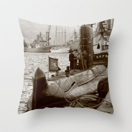 N R P Barracuda Throw Pillow