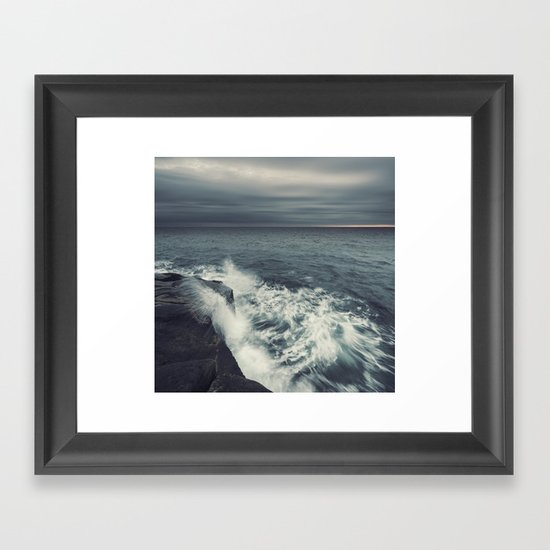 Dancing Ashore Framed Art Print