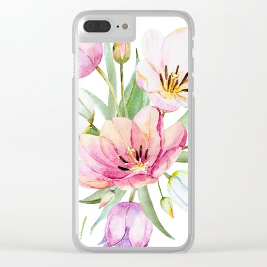 Spring is in the air #36 Clear iPhone Case