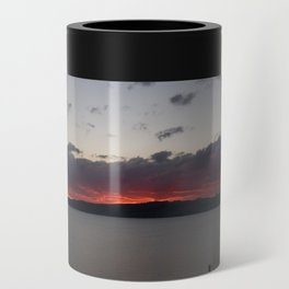 Sunset Over Taupo Can Cooler