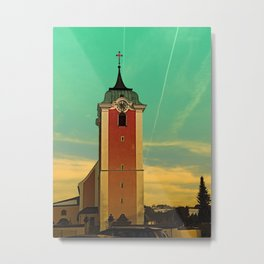 The village church of Neufelden V | architectural photography Metal Print