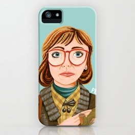 Log Lady iPhone Case
