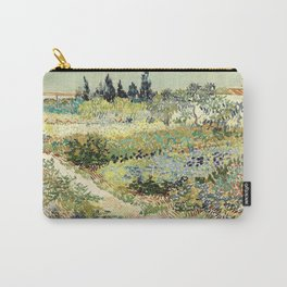 Vincent Van Gogh : Garden At Arles Carry All Pouch